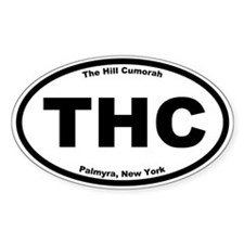 The Hill Cumorah Oval Decal
