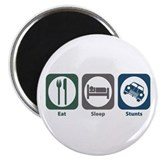 Eat Sleep Stunts Magnet