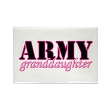 Army Granddaughter Rectangle Magnet