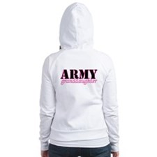 Army Granddaughter Fitted Hoodie