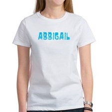 Abbigail Faded (Blue) Tee