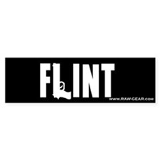 Flint Bumper Bumper Sticker