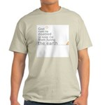 """Disabled """"Ruling the Earth"""" Light T-Shirt"""