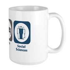 Eat Sleep Social Sciences Mug