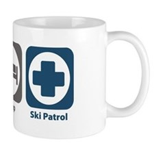 Eat Sleep Ski Patrol Mug