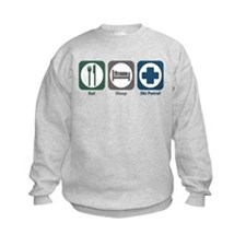 Eat Sleep Ski Patrol Sweatshirt