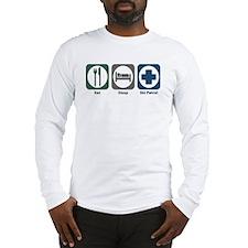 Eat Sleep Ski Patrol Long Sleeve T-Shirt