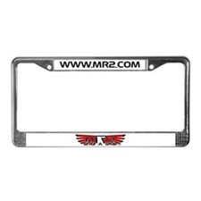 MR2Board's Red License Plate Frame