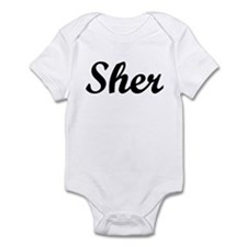 Sher Infant Bodysuit