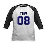 Tew 08 Kids Baseball Jersey