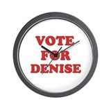 Vote for DENISE Wall Clock