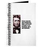 Thoreau &quot;Sincerity&quot; Journal