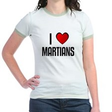 I LOVE MARTIANS T