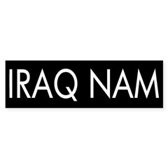 Iraq Nam (bumper sticker)