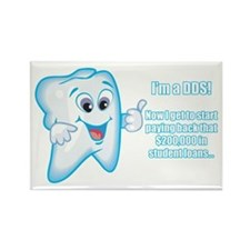 Funny DDS Grad Rectangle Magnet (100 pack)