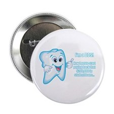 """Funny DDS Grad 2.25"""" Button (100 pack)"""