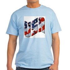 USA gift Ash Grey T-Shirt