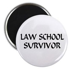 "Law School Survivor 2.25"" Magnet (100 pack)"