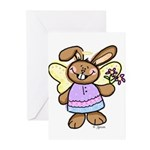 Angel Bunny Greeting Cards (Pk of 10)