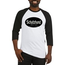 Schutzhund (Protection Dog) Baseball Jersey