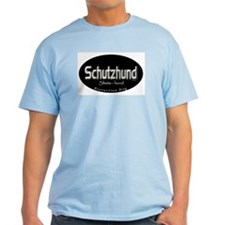 Schutzhund ( Protection Dog) Ash Grey T-Shirt