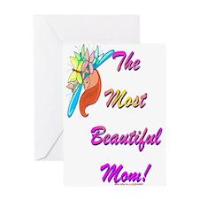 Beautiful Mom Greeting Card