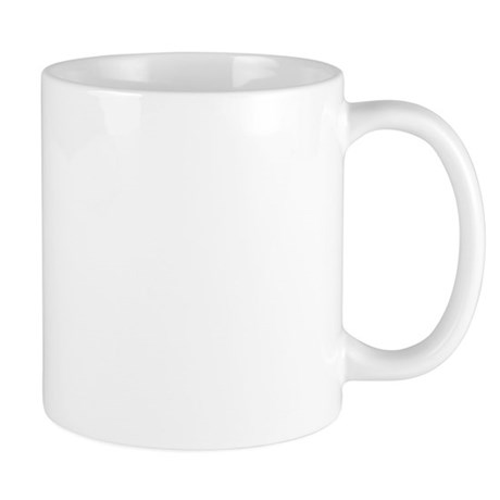 Navy Girlfriend Tags Mug