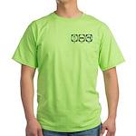 Eat Sleep Sales Green T-Shirt