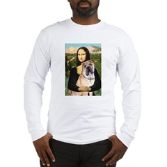 Mona Lisa's Shar Pei (#5) Long Sleeve T-Shirt