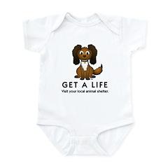 Get a Life Infant Bodysuit