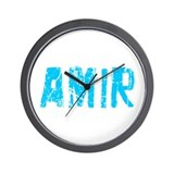 Amir Faded (Blue) Wall Clock