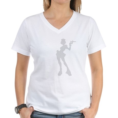Sexy Nurse Women's V-Neck T-Shirt