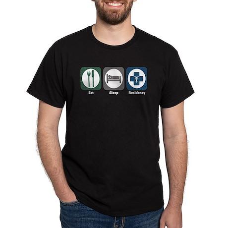 Eat Sleep Residency Dark T-Shirt