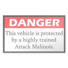Attack Malinois Decal
