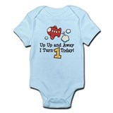 1st Birthday Airplane Infant Bodysuit