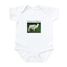 Llamas for Obama Infant Bodysuit