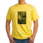 Eel River at Ravencliff Yellow T-Shirt