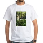 Eel River at Ravencliff White T-Shirt