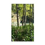 Eel River at Ravencliff Rectangle Sticker 50 pk)