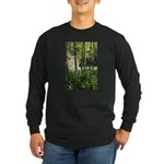 Eel River at Ravencliff Long Sleeve Dark T-Shirt
