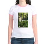 Eel River at Ravencliff Jr. Ringer T-Shirt