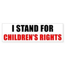 Children's Rights Bumper Sticker (50 pk)