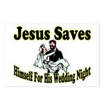 Jesus Saves Postcards (Package of 8)