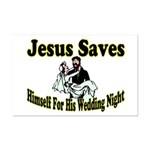 Jesus Saves Mini Poster Print