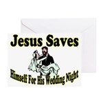 Jesus Saves Greeting Cards (Pk of 10)