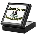Jesus Saves Keepsake Box