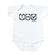 Eat Sleep Quality Assurance Infant Bodysuit