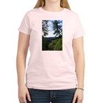 Eel River from the cliff Women's Light T-Shirt