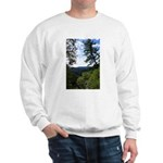 Eel River from the cliff Sweatshirt