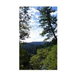 Eel River from the cliff Rectangle Sticker 50 pk)